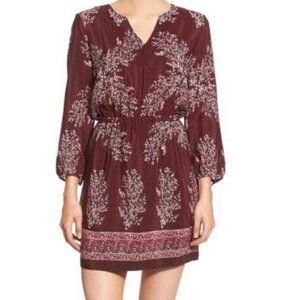 Madewell Silk Lassi Floral Dress